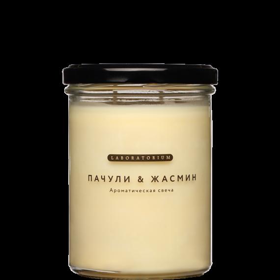 Ароматическая свеча Пачули и Жасмин, 280мл, Laboratorium