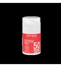 Солнцезащитный крем Календула SPF50 PINK, 50мл ,Levrana