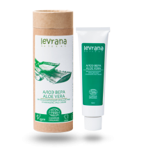 Крем для лица Алоэ Вера витаминизирующий, 50мл ,Levrana