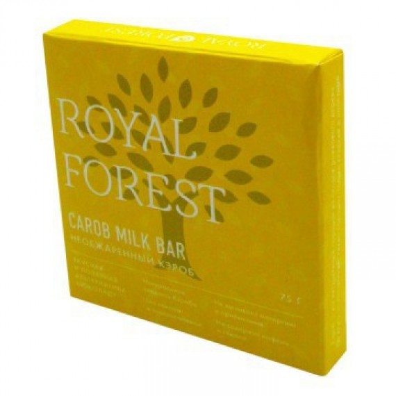 Шоколад Royal Forest Milk Bar (необжаренный кэроб) 75 г