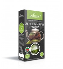 Зеленый чай Матча, 100гр, Polezzno