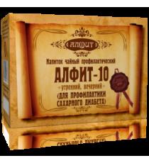 Фитосбор Алфит-10 Для профилактики сахарного диабета