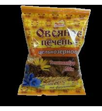 Печенье Овсяное цельнозерновое с топинамбуром и льном, 300 г