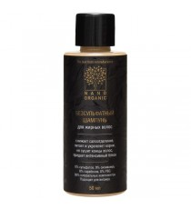 Mini шампунь для жирных волос, 50 мл, Nano Organic