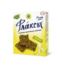 Флаксы (льняные крекеры) с бананом, 150 гр.